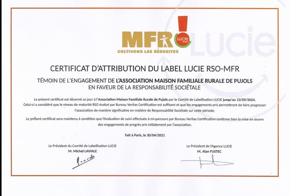 QUALIOPI & LABEL RSO-MFR