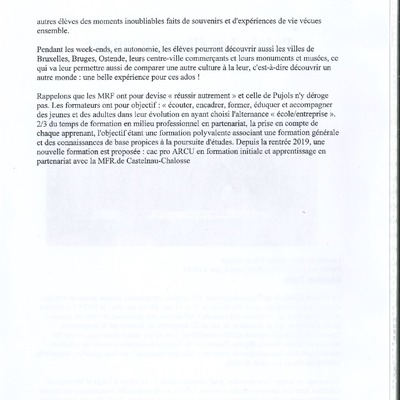 Mobilité Européenne 21_11_19 MFR Pujols
