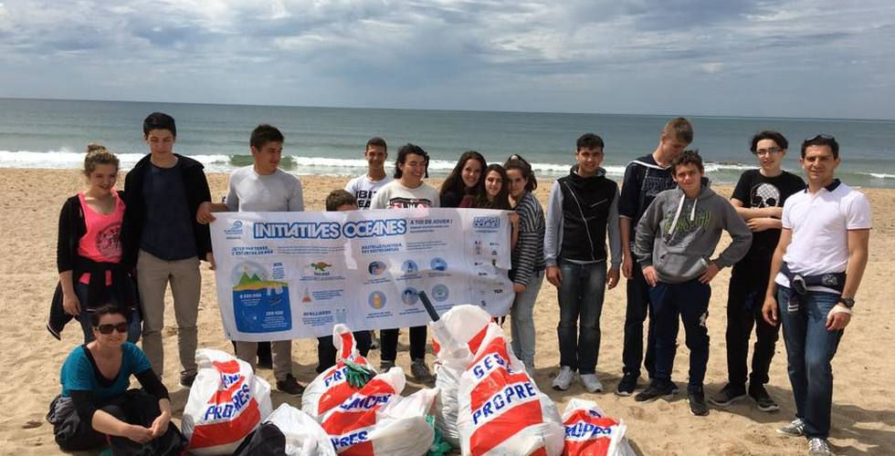 Voyage scolaire à la mer - MFR Pujols dans le Lot-et-Garonne