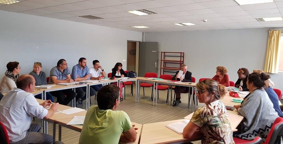 L'équipe pédagogique de la MFR Pujols dans le Lot-et-Garonne
