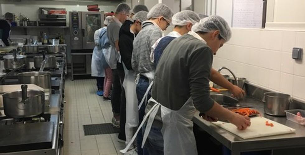 Formation en cuisine pour 3ème et 4ème - MFR Pujols dans le Lot-et-Garonne