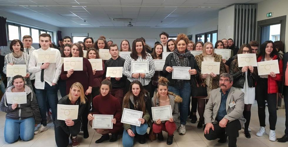 Remise des diplômes - MFR Pujols dans le Lot-et-Garonne