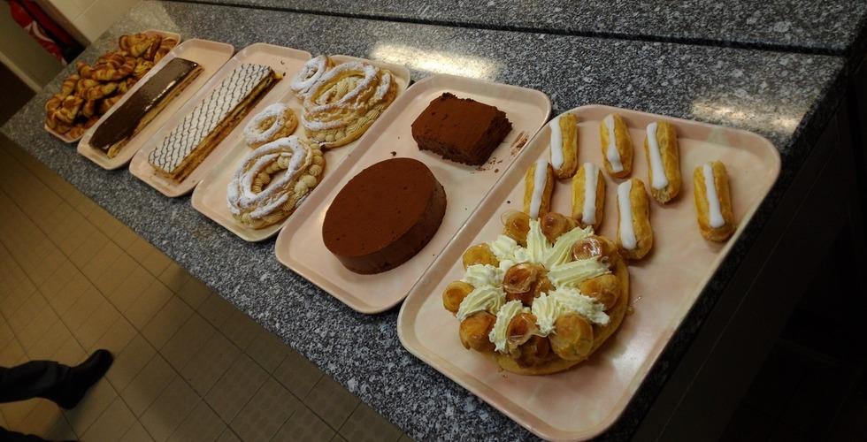 Création de pâtisserie en formation de cuisine - MFR Pujols