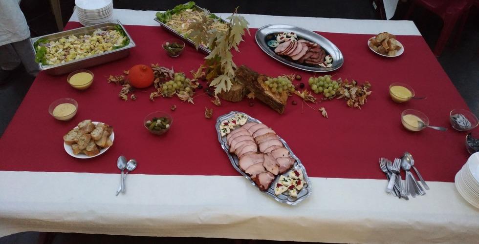 Buffet en restaurant d'application - MFR Pujols