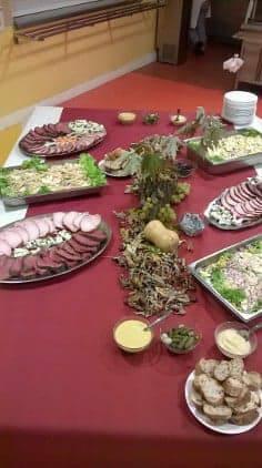 Buffet froid par la formation en cuisine - MFR Pujols
