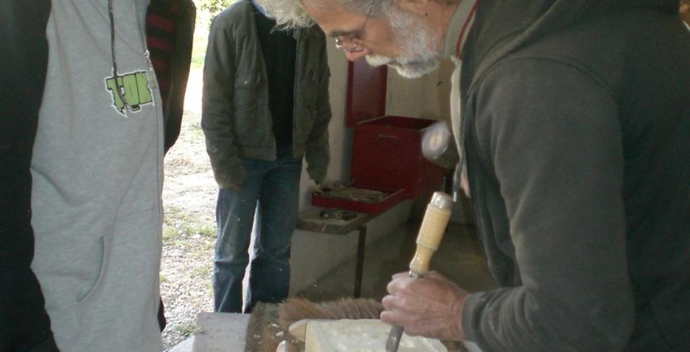 Atelier de sculpture - MFR Pujols dans le Lot-et-Garonne
