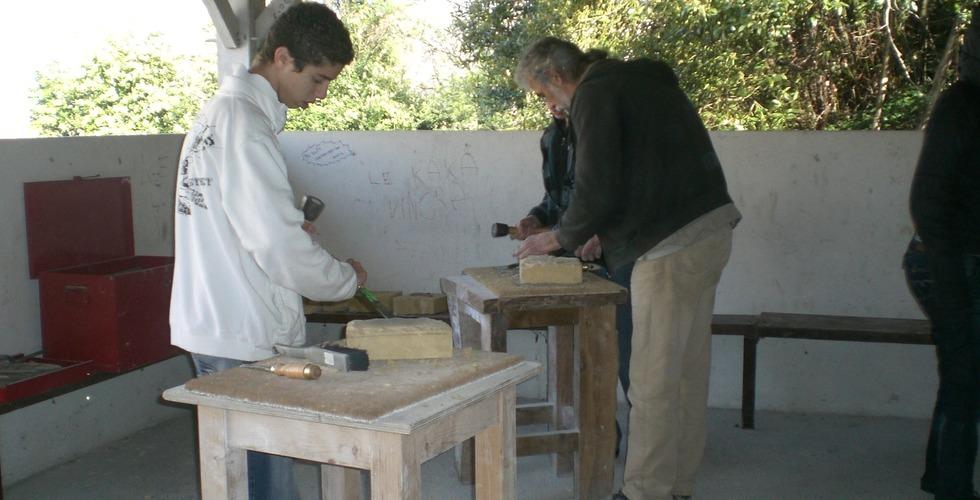 Atelier en extérieur - MFR Pujols dans le Lot-et-Garonne