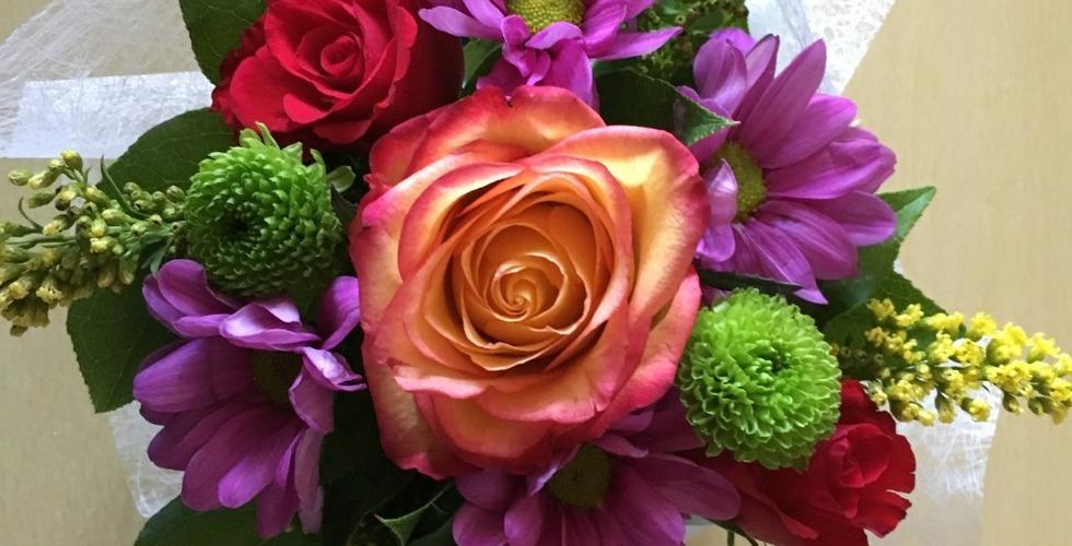 Bouquet de fleur - MFR Pujols dans le Lot-et-Garonne