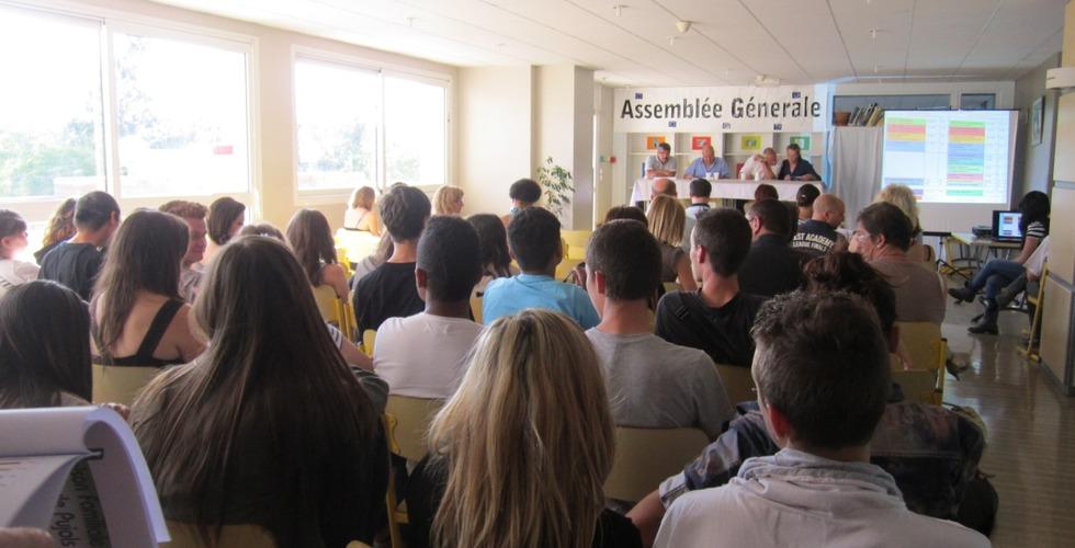 Assemblée générale à la MFR Pujols dans le Lot-et-Garonne